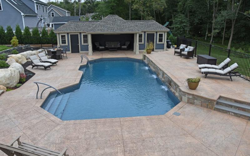 10B Mountain Pond Inground Pool - Suffield, CT