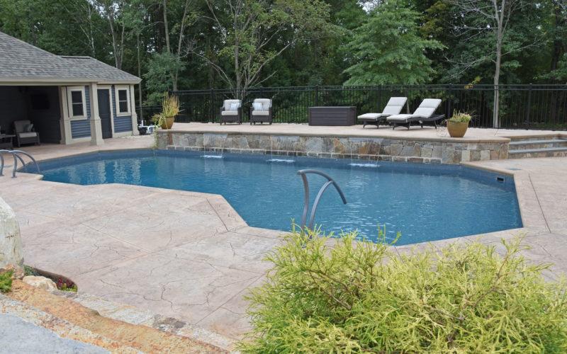 10C Mountain Pond Inground Pool - Suffield, CT