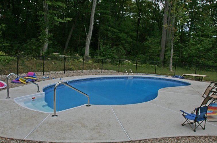 11B Kidney Inground Pool -Northampton, MA
