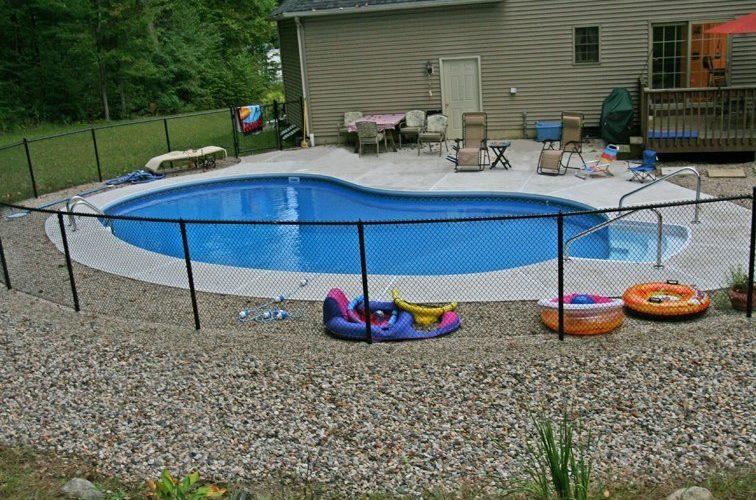 11D Kidney Inground Pool -Northampton, MA