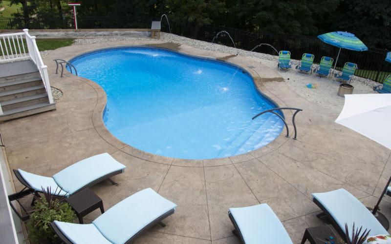 12A Mountian Pond Inground Pool - Ellington, CT