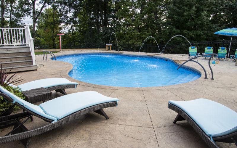 12B Mountian Pond Inground Pool - Ellington, CT