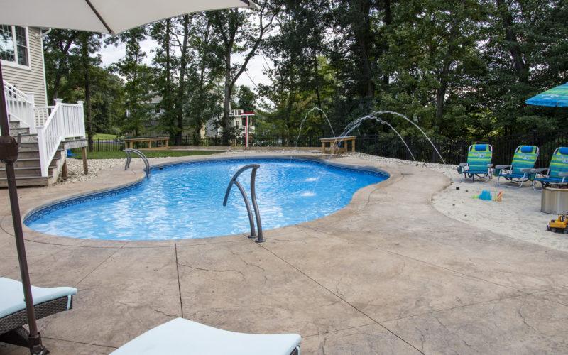 12C Mountian Pond Inground Pool - Ellington, CT