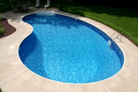 13A Kidney Inground Pool -Somers, CT