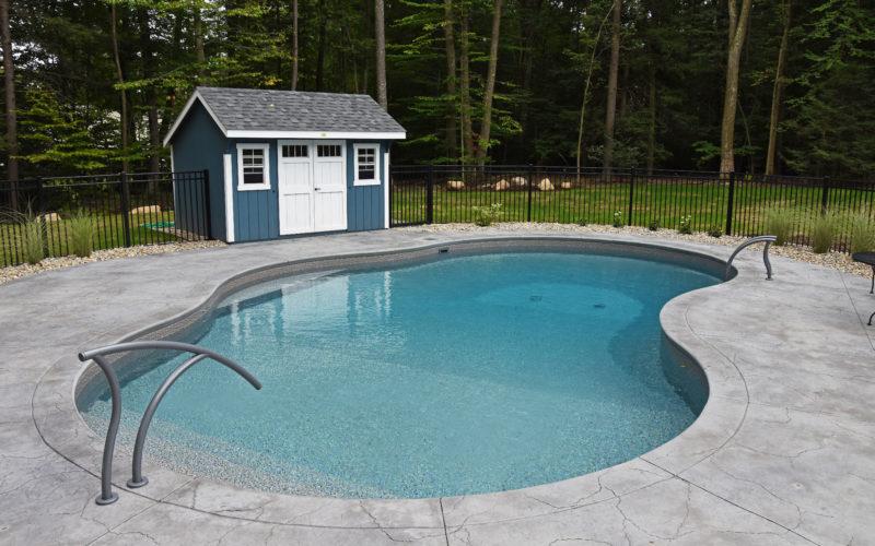 13A Mountain Pond Inground Pool - Avon, CT