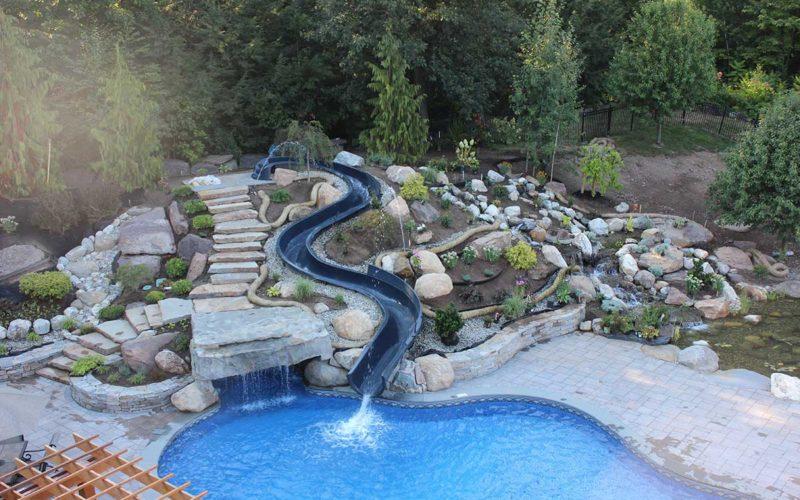 16A Mountain Pond Inground Pool - West Springfield, MA