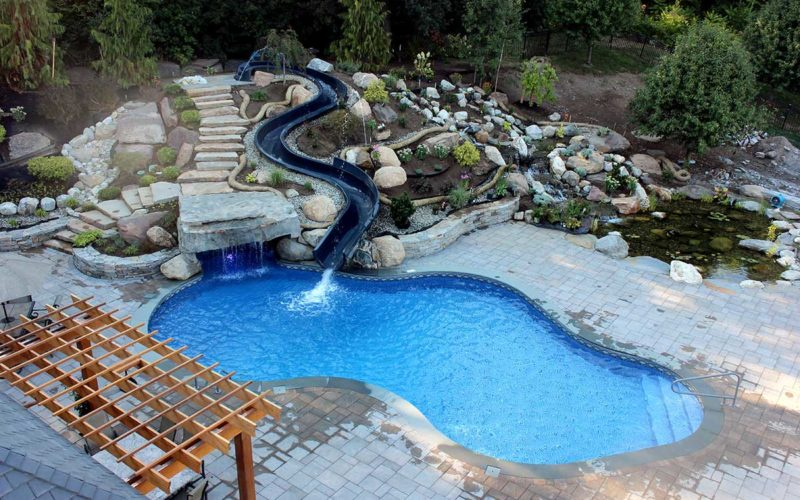 16B Mountain Pond Inground Pool - West Springfield, MA