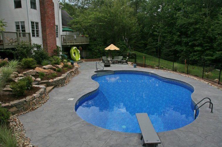 17B Mountain Pond Inground Pool - Tolland, CT