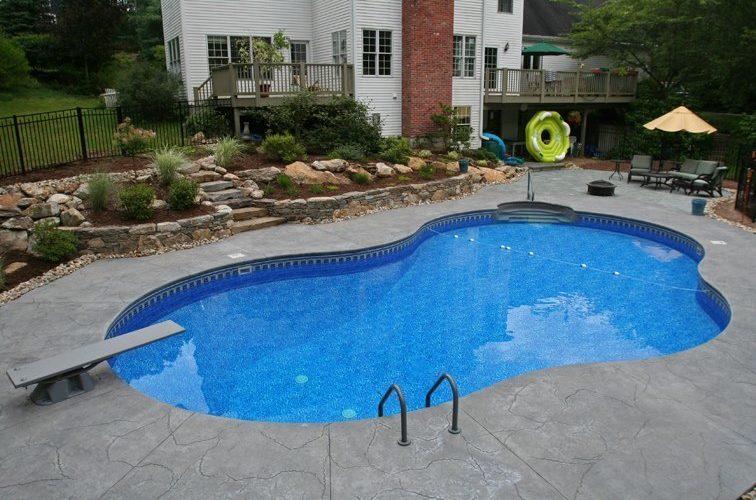17C Mountain Pond Inground Pool - Tolland, CT