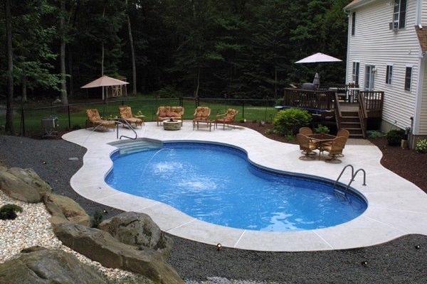 18B Mountain Pond Inground Pool - Tolland, CT