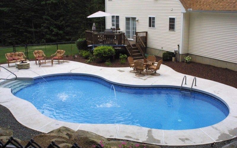 18C Mountain Pond Inground Pool - Tolland, CT