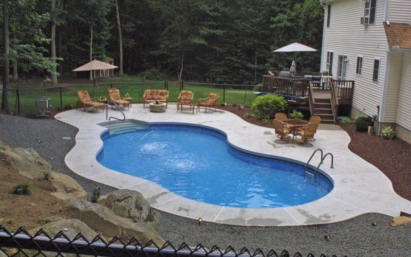 18D Mountain Pond Inground Pool - Tolland, CT