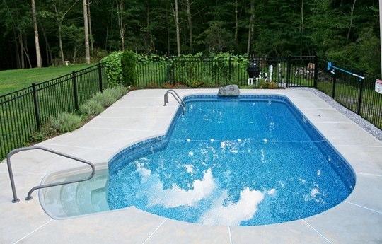 Keyhole Inground Swimming Pools Gallery Juliano 39 S Pools