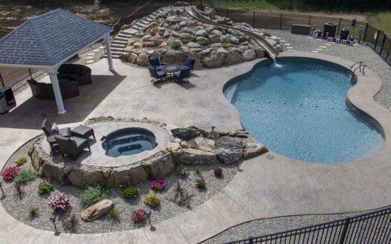 1A Mountain Pond Inground Pool - Glastonbury, CT