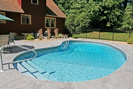 1B Kidney Inground Pool - Stafford, CT