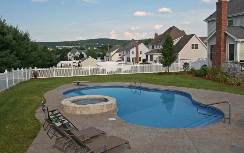 20B Mountain Pond Inground Pool - Ellington, CT