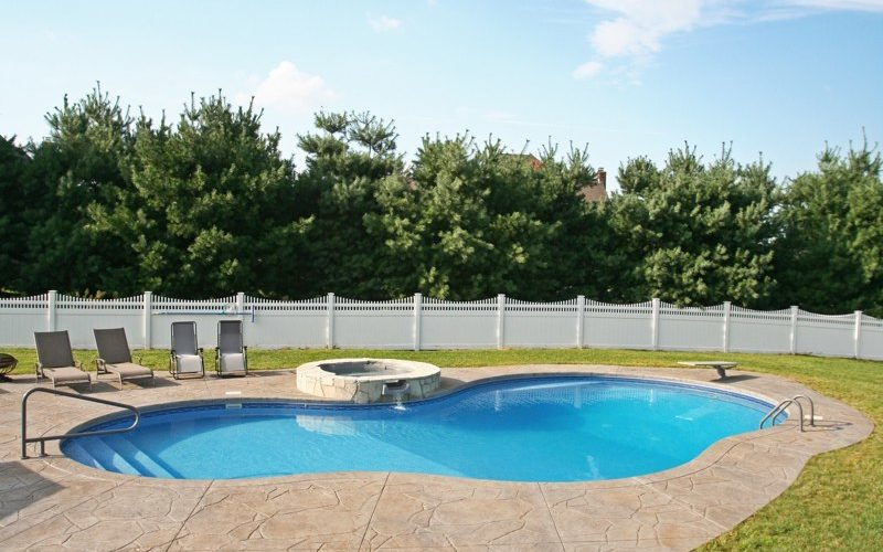 20C Mountain Pond Inground Pool - Ellington, CT