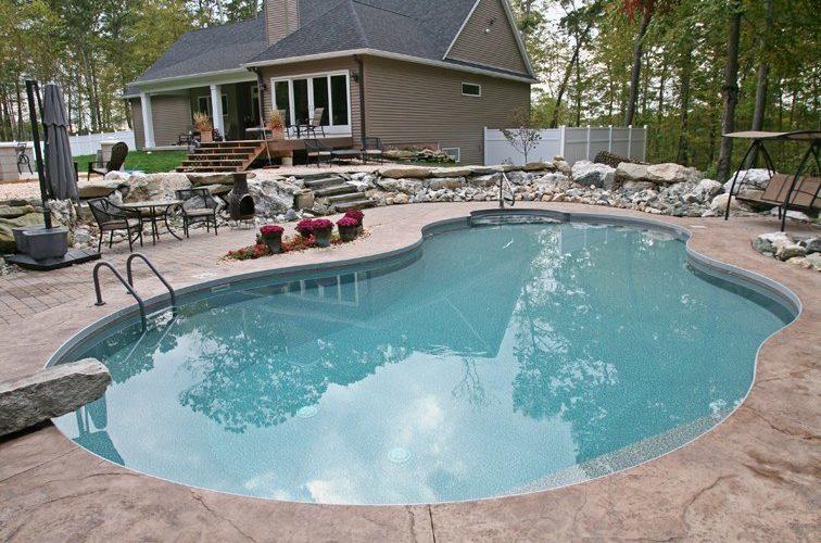 21C Mountain Pond Inground Pool - Beltchertown, MA