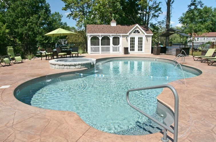 22C Mountain Pond Inground Pool - Cromwell, CT