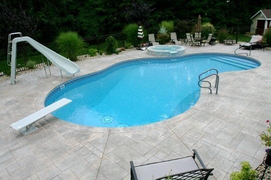 23C Mountain Pond Inground Pool - Cromwell, CT