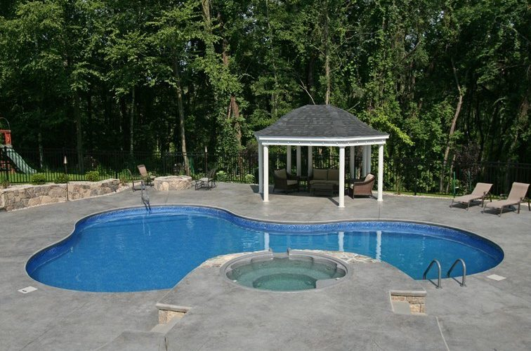 24A Lagoon Inground Pool -East Granby, CT