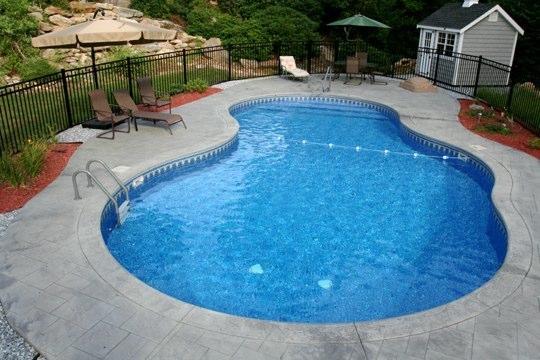 25A Mountain Pond Inground Pool - West Hartford, CT