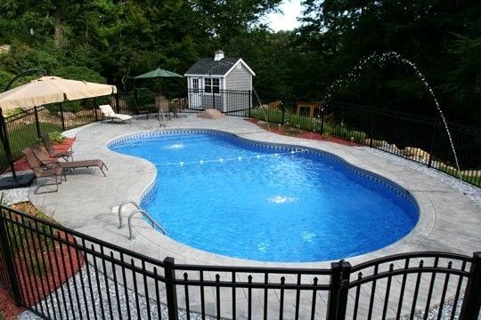 25B Mountain Pond Inground Pool - West Hartford, CT