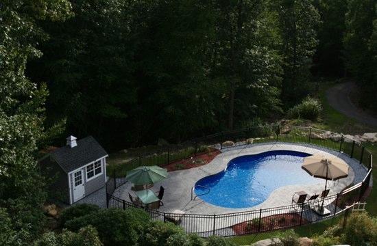 25C Mountain Pond Inground Pool - West Hartford, CT
