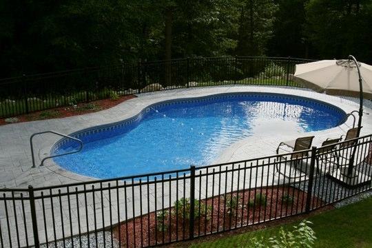 25D Mountain Pond Inground Pool - West Hartford, CT