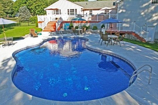 26B Mountain Pond Inground Pool - Somers, CT