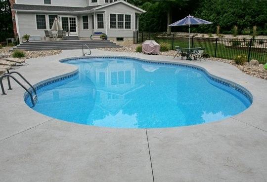 28B Mountain Pond Inground Pool - Canton, CT