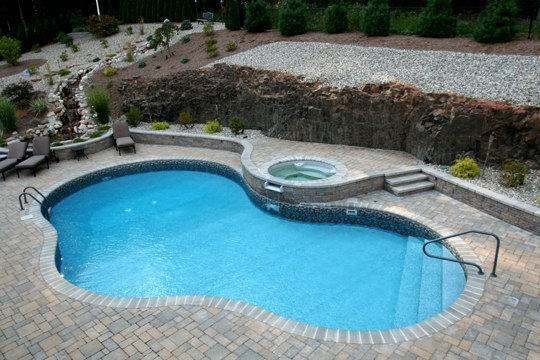 29D Mountain Pond Inground Pool - Rocky Hill, CT