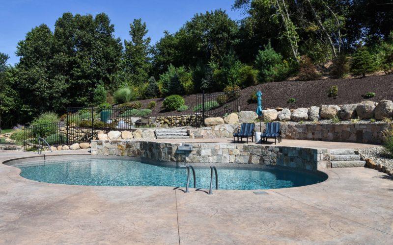 2A Mountain Pond Inground Pool - Glastonbury, CT