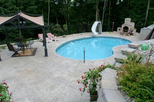 2B Kidney Inground Pool - Russell, MA
