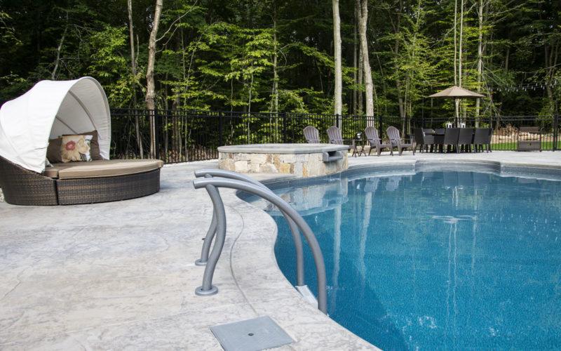 2D Mountain Pond Inground Pool - Higganum, CT