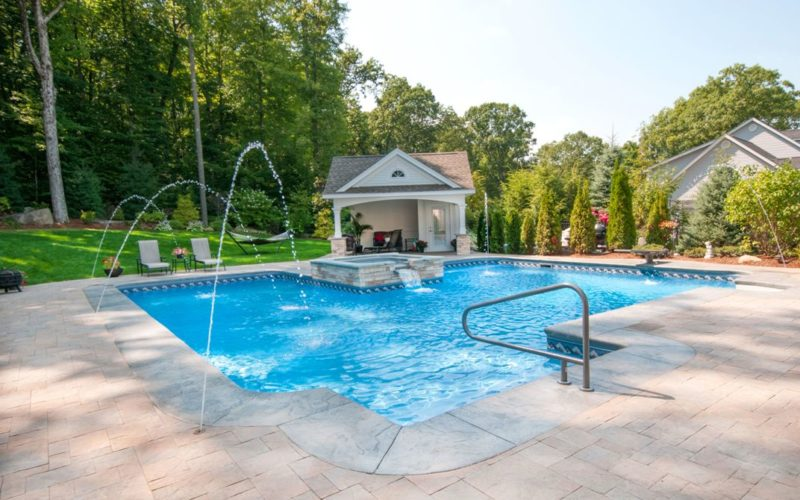 30A Custom Inground Pool, Suffield, CT