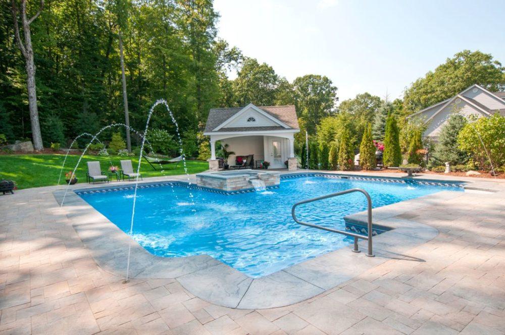 30A Custom Inground Pool, Suffield, CT