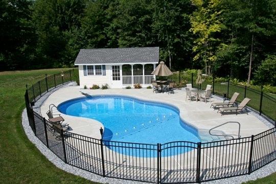 30C Mountain Pond Inground Pool - Tolland, CT