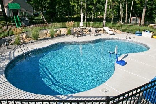 31B Mountain Pond Inground Pool - Higganum, CT