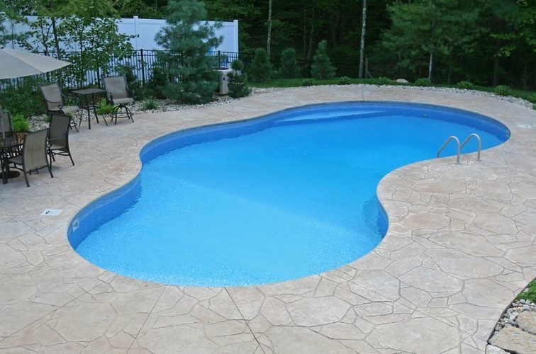 32B Mountain Pond Inground Pool - Canton, CT