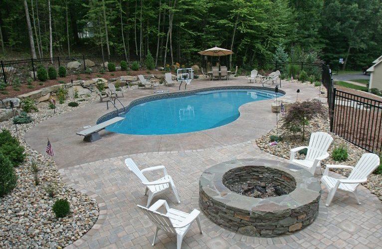 33B Mountain Pond Inground Pool - Tolland, CT