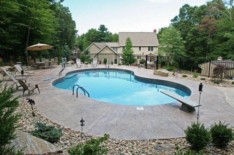 33C Mountain Pond Inground Pool - Tolland, CT