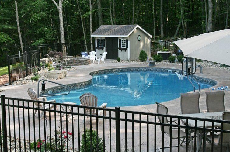 33D Mountain Pond Inground Pool - Tolland, CT