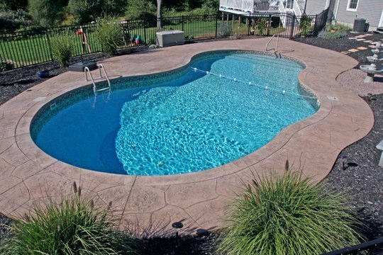 34B Mountain Pond Inground Pool - Norwich, CT