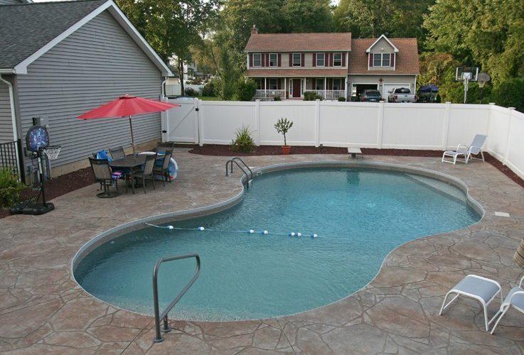 35D Mountain Pond Inground Pool - Windsor Locks, CT