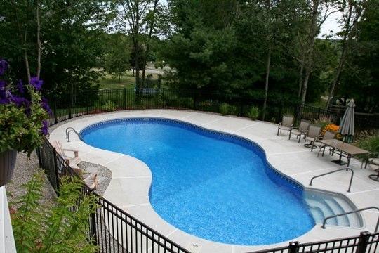 39B Mountain Pond Inground Pool - Tolland, CT