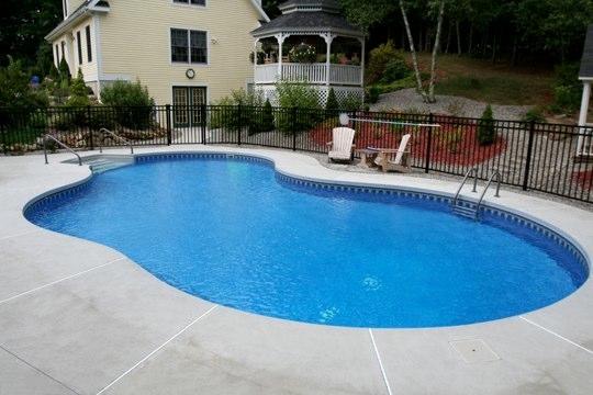 39C Mountain Pond Inground Pool - Tolland, CT