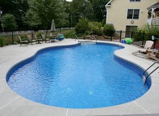 39D Mountain Pond Inground Pool - Tolland, CT