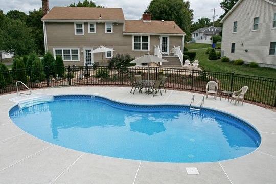 3B Kidney Inground Pool - Wethersfield, CT