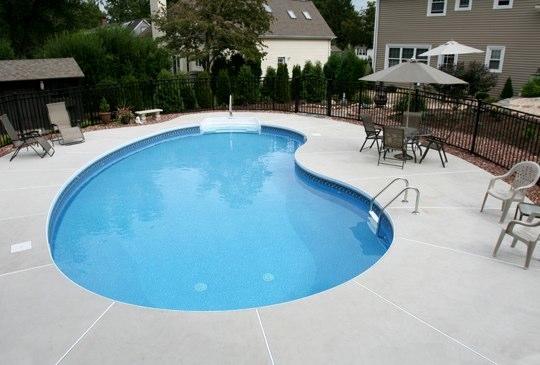 3C Kidney Inground Pool - Wethersfield, CT
